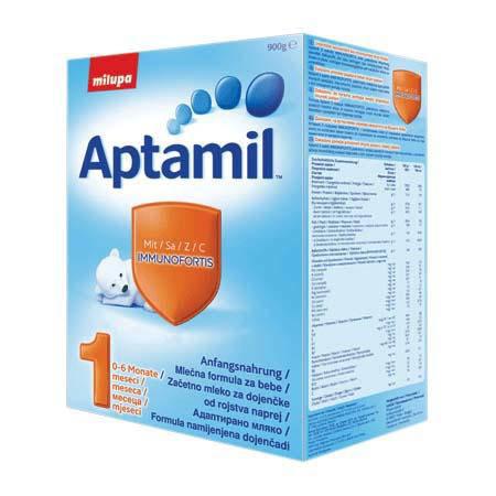 APTAMIL Адаптирано мляко за кърмачета 1 800гр.